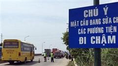 Cấm tuyệt đối phương tiện lưu thông tại tầng 2 cầu Thăng Long từ ngày 6-8
