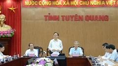 Bộ GD-ĐT kiểm tra công tác chuẩn bị tổ chức thi tốt nghiệp THPT tại Tuyên Quang