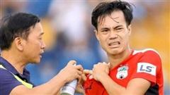 Anh Đức chưa thể thi đấu, Văn Toàn vẫn phải 'gánh' HAGL trên bờ vai chưa lành