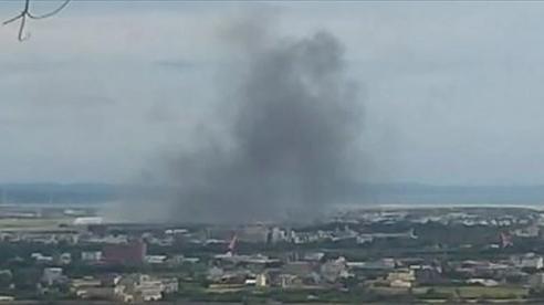 Trực thăng quân sự Đài Loan rơi trong lúc tập trận, hai phi công thiệt mạng