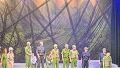 Khai mạc liên hoan sân khấu 'Hình tượng người chiến sĩ Công an nhân dân'