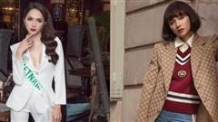 Mấy ai được như Hoa hậu Hương Giang cân đẹp mọi kiểu menswear kén dáng khó nhằn nhất