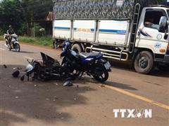 Hai vụ tai nạn kinh hoàng khiến 4 người tử vong ở Bình Phước