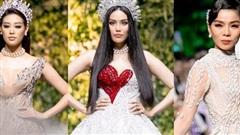 Dàn Hoa hậu, Á hậu, siêu mẫu nhiều thế hệ cùng catwalk trong show Hoàng Hải