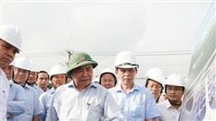 Chùm ảnh: Thủ tướng kiểm tra tiến độ triển khai Dự án sân bay Long Thành