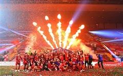 Liverpool giành chức vô địch Premier League sau 30 năm chờ đợi