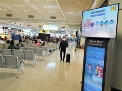 Các Cảng hàng không tăng cường kiểm dịch sau ca nghi nhiễm ở Đà Nẵng
