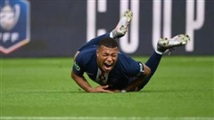 Chấn thương kinh hoàng, Mbappe chia tay Champions League