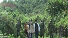 Ngăn chặn 14 người nhập cảnh trái phép, trốn cách ly y tế tại Hà Giang