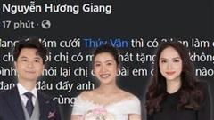 Tại sao Hương Giang không thể góp giọng trong đám cưới Á hậu Thúy Vân?
