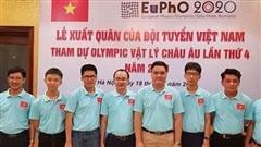 Học sinh Hà Nội xuất sắc đoạt HCV tại Olympic Vật lý châu Âu 2020