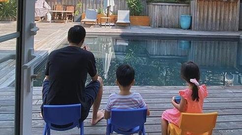 Tăng Thanh Hà khoe ảnh gia đình ấm áp