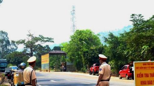 Bình Định: Lập chốt tại điểm giáp các tỉnh lân cận chống dịch Covid-19