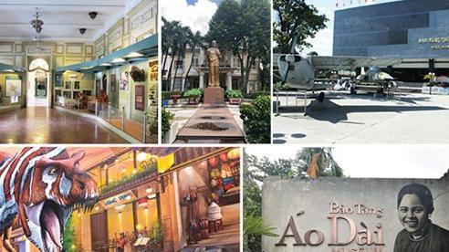 Tham quan bảo tàng ở Sài Gòn