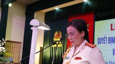 Nữ Thượng tá được bổ nhiệm làm Phó Giám đốc Công an tỉnh Nam Định