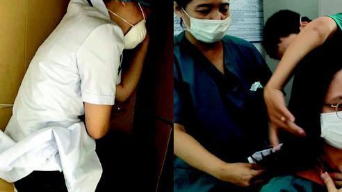 'Rúm người' ngủ vội trên bìa các tông, cắt tóc ngắn phục vụ điều trị bệnh nhân Covid-19: Loạt hình ảnh chân thực nhất về y bác sĩ Đà Nẵng nơi tuyến đầu chống dịch