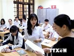 Hà Nội thành lập 30 đoàn kiểm tra Kỳ thi tốt nghiệp THPT