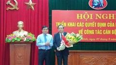 Ông Hoàng Đăng Quang được điều động làm Phó Trưởng Ban Tổ chức Trung ương