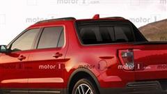 Phác họa thiết kế của Ford Maverick - Mẫu bán tải 'đàn em' của Ranger