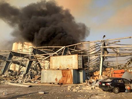 Liban: Công dân Việt Nam bị thương trong vụ nổ tại Beirut