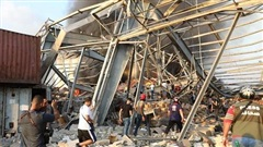 Nhân chứng kể lại giây phút kinh hoàng về mạnh ngang 240 tấn TNT ở Lebanon