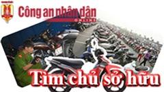 Công an quận Bắc Từ Liêm tìm chủ sở hữu xe máy