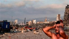 Khung cảnh 'hậu tận thế' tại Beirut sau vụ nổ