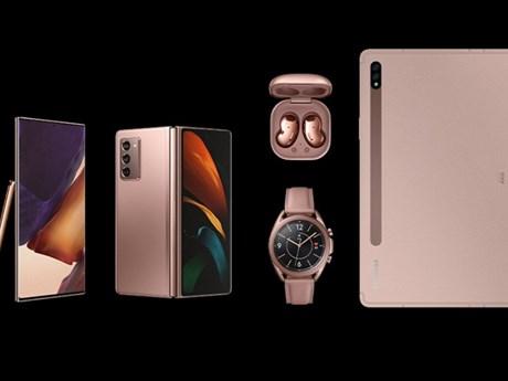 Samsung giới thiệu hàng loạt thiết bị đeo và máy tính bảng mới