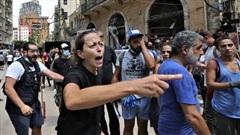 Biểu tình bùng phát tại Beirut sau thảm họa cháy nổ