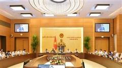 Phiên họp thứ 47 của Ủy ban Thường vụ Quốc hội diễn ra trong 3 ngày