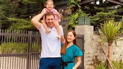 Lan Phương khoe ảnh gia đình hạnh phúc, cuộc sống hôn nhân viên mãn