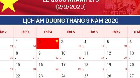 Nghỉ Lễ Quốc khánh 2-9 sẽ có sự thay đổi năm tới