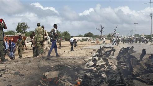 Nổ lớn tại thủ đô của Somalia, hơn 22 người thương vong