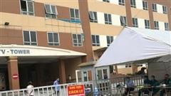 Phong tỏa chung cư có ca bệnh Covid-19 ở Hoài Đức, xác định 57 trường hợp F1