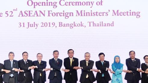 Tuyên bố của các bộ trưởng ngoại giao ASEAN về việc duy trì hòa bình ổn định ở Đông Nam Á