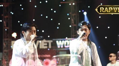 'Rap Việt' gây sốt vì Ricky Star, 'King of Rap' không thua kém với Pháo