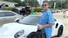 Mua trót lọt chiếc siêu xe Porsche bằng tấm séc giả tự in
