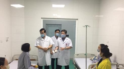 Kiểm tra mức độ an toàn phòng chống dịch COVID-19 tại BV chuyên khoa Phổi, Thận