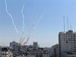 Phong trào Hamas bắn rocket ra Địa Trung Hải cảnh báo Israel