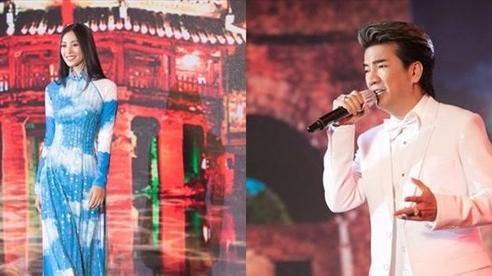 Đàm Vĩnh Hưng hát tiếng Quảng, Tiểu Vy trình diễn áo dài bán đấu giá