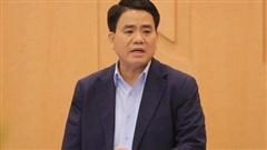 Hà Nội họp gấp, công bố quyết định tạm đình chỉ công tác Chủ tịch UBND TP Nguyễn Đức Chung