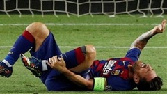 Messi có nguy cơ vắng mặt trong trận tứ kết Champions League