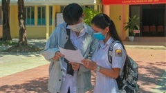 Đáp án chính thức của Bộ GDĐT bài thi môn Toán và các bài thi môn tổ hợp KHTN, KHXH