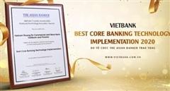 Vietbank – Ngân hàng duy nhất nhận giải thưởng công nghệ ngân hàng lõi tốt nhất năm 2020