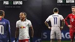 Xác định 4 cái tên giành vé vào bán kết Champions League