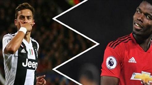 Dybala và Pogba sắp sửa đổi chỗ cho nhau?