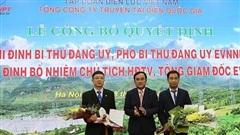 Công bố Tân Chủ tịch HĐTV và Tổng giám đốc EVNNPT