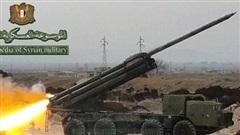SAA dùng Uragan và Smerch dội lửa vào phiến quân tại Idlib