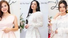 Dàn mỹ nhân Vbiz hội ngộ: 'Mẹ bỉm' Trương Quỳnh Anh, Vân Trang khoe nhan sắc xinh đẹp