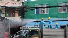 4 ca mắc Covid-19 mới, Đà Nẵng phun hóa chất hàng loạt khu chợ, tuyến đường